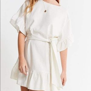 Urban Outfitters Suddenly Spring Linen Dress